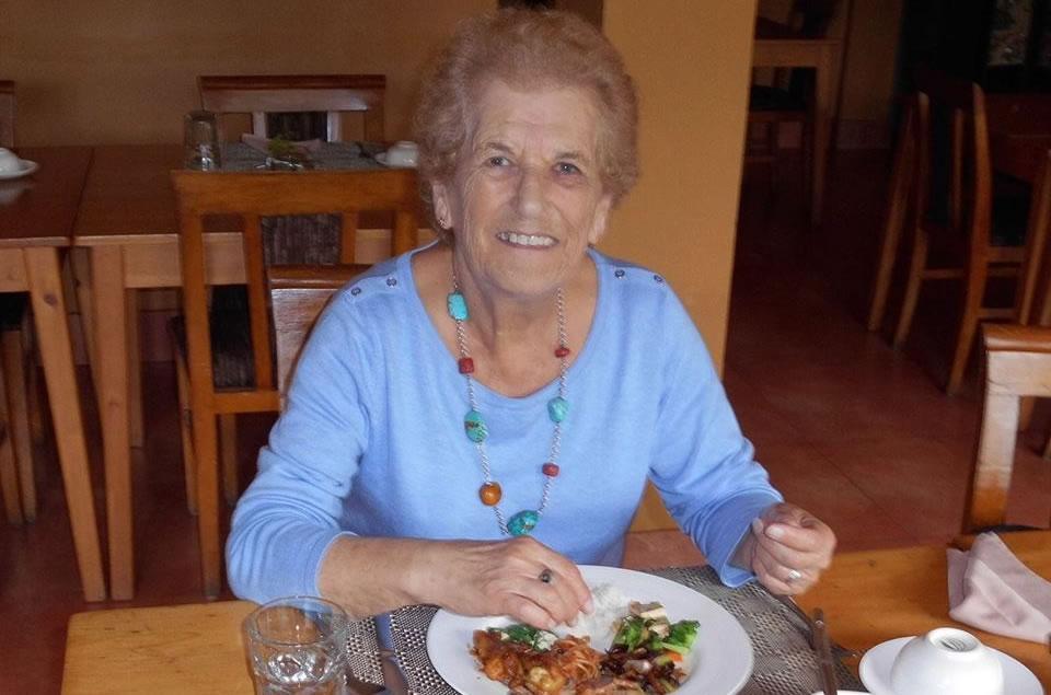Eileen Hewson in Thimphu