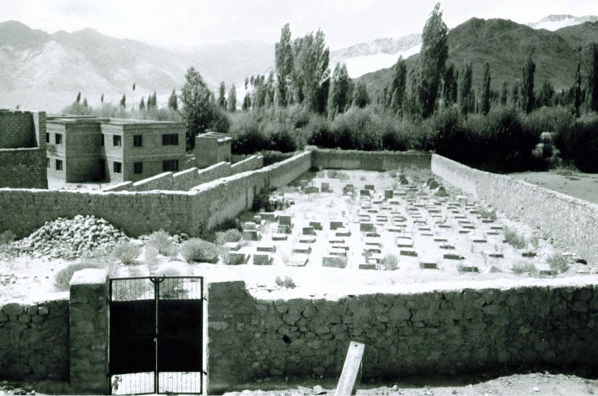 A Himalayan Cemetery