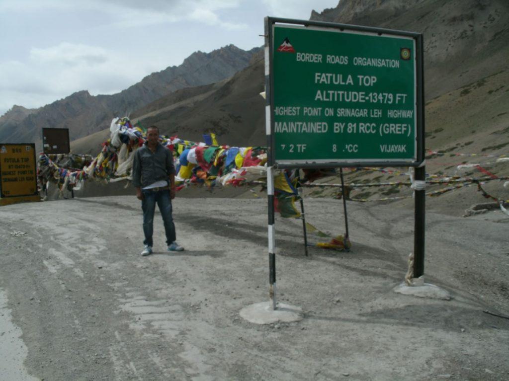The Srinagar-Leh Highway 1978