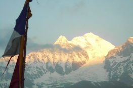 Dhalaugiri at Sunrise