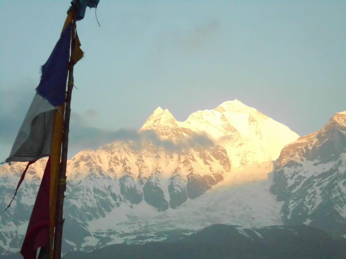 Dhalaugiri at Sunrise